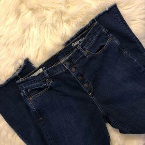 Gap High Rise Flair Jeans